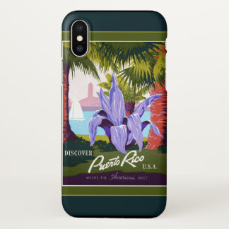 Puerto Rico iPhone X Case