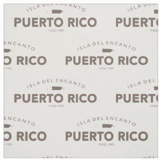 Puerto Rico, Isla del Encanto Fabric