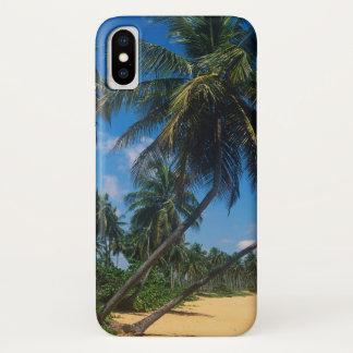 Puerto Rico, Isla Verde, palm trees iPhone X Case