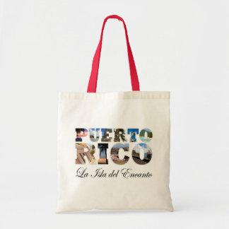 Puerto Rico La Isla Del Encanto Collage / Montage Tote Bag