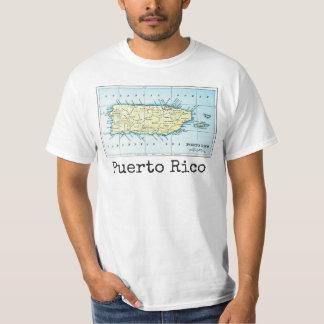 Puerto Rico Map Men's Shirt