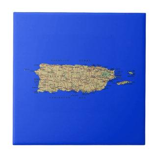 Puerto Rico Map Tile