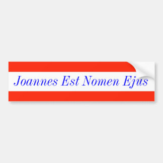 Puerto Rico Motto Bumper Sticker