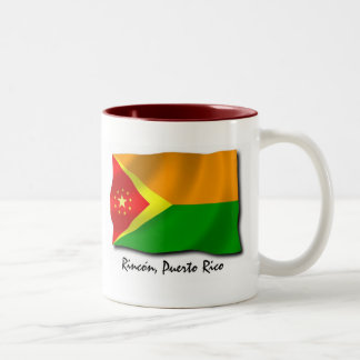 Puerto Rico Mug: Rincon Two-Tone Coffee Mug