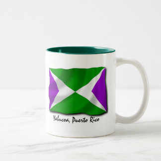 Puerto Rico Mug: Yabucoa Two-Tone Coffee Mug