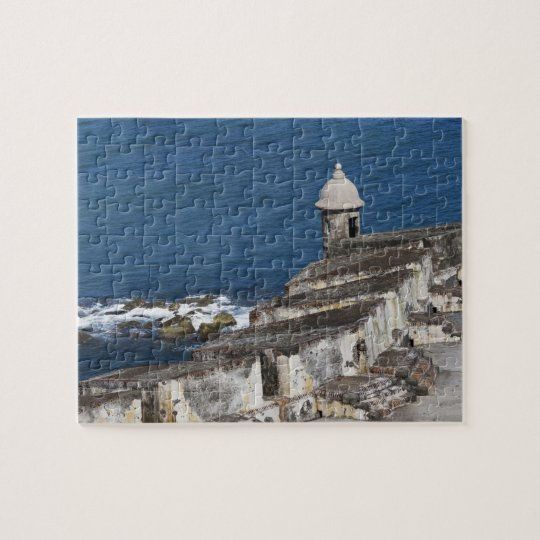 Puerto Rico, Old San Juan, section of El Morro Jigsaw Puzzle
