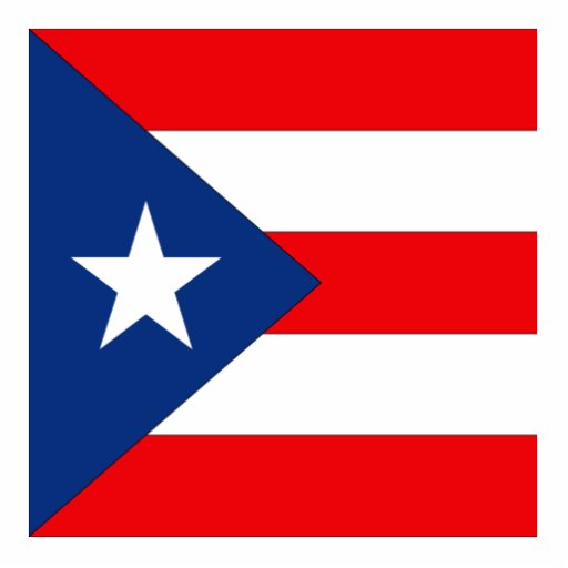 Puerto Rico Photo Cut Out