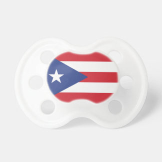 Puerto Rico Plain Flag Baby Pacifiers