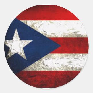 Puerto Rico Pride Classic Round Sticker