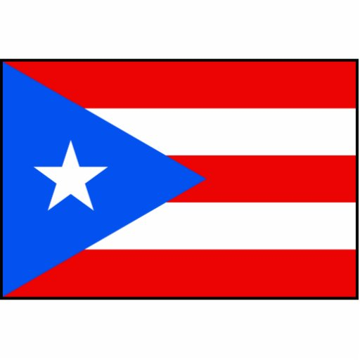 Puerto Rico – Puerto Rican Flag Photo Sculpture