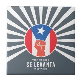 Puerto Rico Se Levanta Ceramic Tile