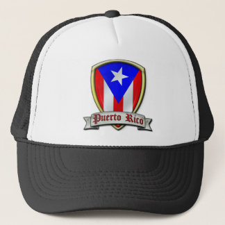 Puerto Rico - Shield2 Trucker Hat