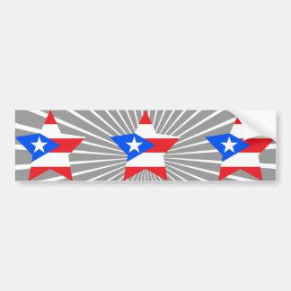 Puerto+Rico Star Bumper Stickers