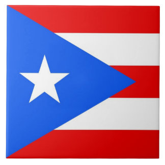 Puerto Rico State Flag Tile