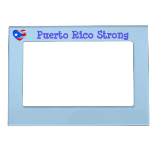 Puerto Rico Strong picture frame