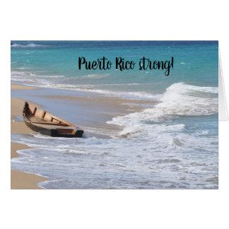 Puerto Rico strong Seasons Greetings card