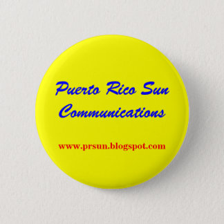 Puerto Rico Sun Communications 6 Cm Round Badge