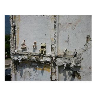 Puerto Rico teddy bears Postcard