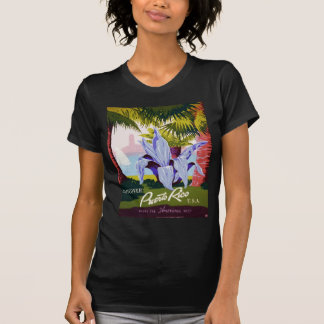 Puerto Rico U S A WPA Tourism and parks poster T Shirt
