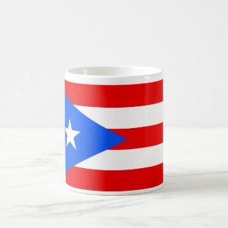 Puerto Rico World Flag Basic White Mug