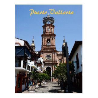 Puerto Vallarta Church Postcard