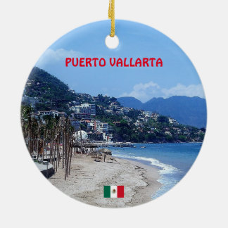 Puerto Vallarta Coffee Mug Round Ceramic Decoration