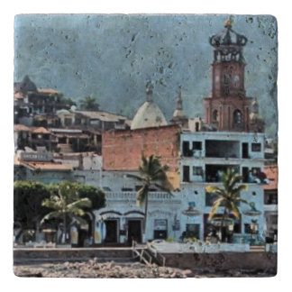 Puerto Vallarta, downtown Trivet