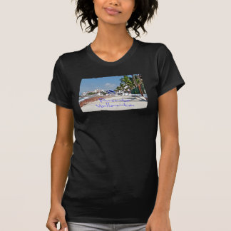 Puerto Vallarta Ladies Twofer Sheer (Fitted) Tshirts