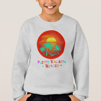 Puerto Vallarta, Mexico Circle Beach Sunset Sweatshirt