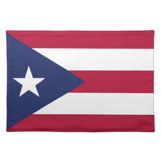 Puertorico flag placemat