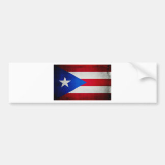 PuertoRicoFlag.jpg Bumper Sticker