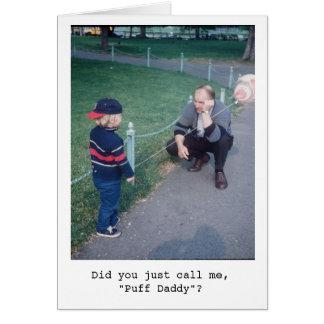 Puff Daddy Greeting Card