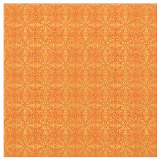 Puffed Pillows-Orange-Zazzle Fabric