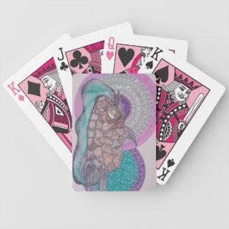 Puffer fish poker deck