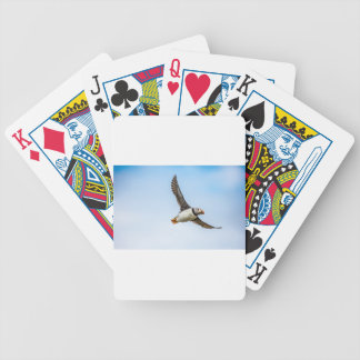 Puffin Bird Sea Flight Wildlife Fly Feather Bicycle Playing Cards