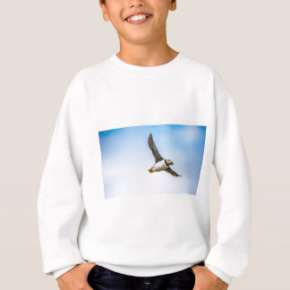 Puffin Bird Sea Flight Wildlife Fly Feather Sweatshirt