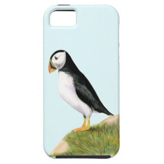 Puffin Bird Watercolour Painting Print fratercula Case For The iPhone 5