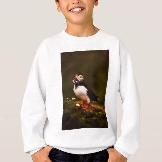 Puffin Fish Animal Bird Wildlife Atlantic Island Sweatshirt