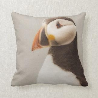 Puffin pillow