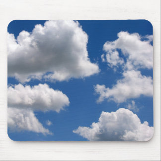 Puffy Clouds Mousepad