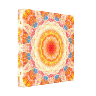 Puffy Colors Canvas Print