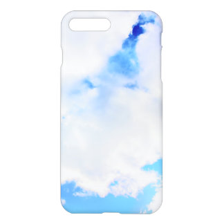 Puffy White Clouds and Blue Sky iPhone 8 Plus/7 Plus Case