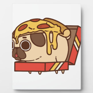 Pug-01 pizza plaque