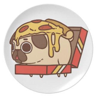 Pug-01 pizza plate
