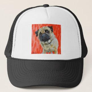 Pug 0range trucker hat