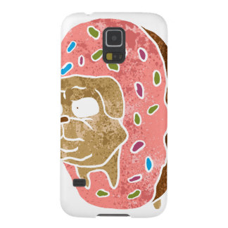pug and donut. galaxy s5 cover