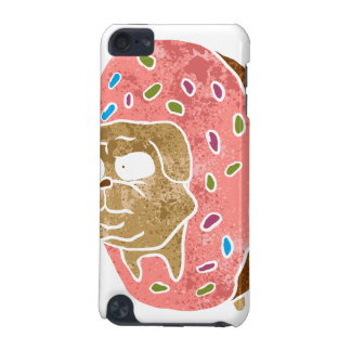 pug and donut. iPod touch (5th generation) case