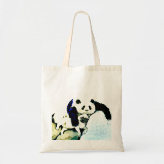 Pug and Panda Tote Bag