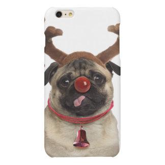 Pug antlers - christmas pug - merry christmas