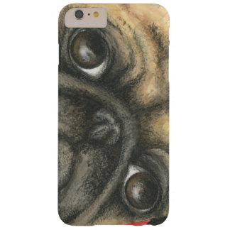 Pug Art Barely There iPhone 6 Plus Case